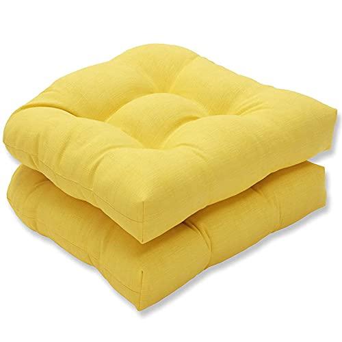 TMXK Cuscino del Sedile Trapuntato, Cuscini per sedie a Forma di U per mobili da Giardino per Esterni, Interni, per ridurre la Pressione e i contorni del Corpo, Confezione da 4, 48 cm/19'