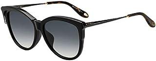 نظارة شمسية للنساء من جيفنشي، بيج واسود ورمادي، GV 7084/F/S 9O Hda، 57