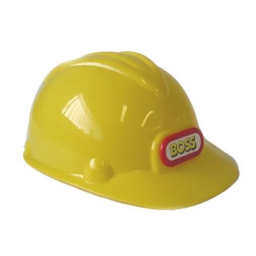 Kids Hard Hat Safety Helmet With Chin Strap One Size New Boss Children/'s