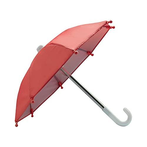 Zuoye Mini paraguas portátil al aire libre impermeable teléfono paraguas protector hermosa muñeca decoración grandes regalos