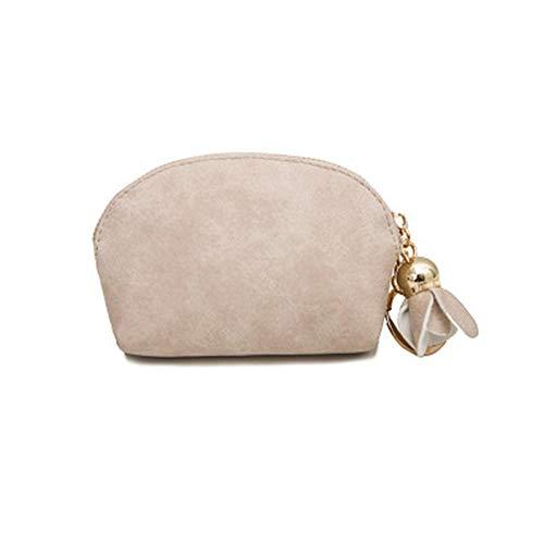 Coin portemonnee vrouwen lederen kleine mini portemonnee clip vrouwelijke portemonnee doos clutch tas kaart sleutel geld tas rits portemonnee rack