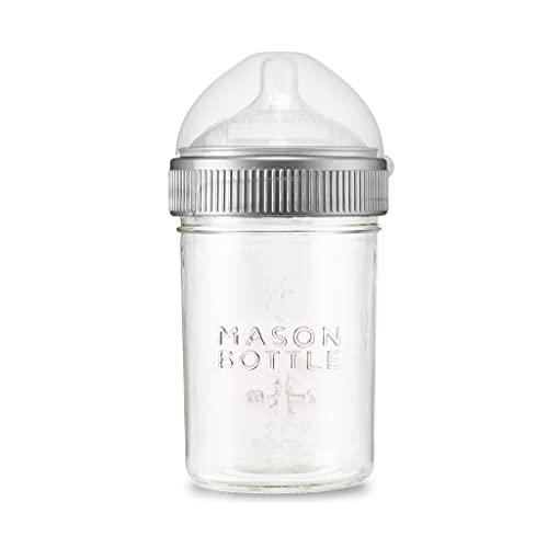 8 oz. Original Mason Bottle: The Glass Baby Bottle Made with Mason...