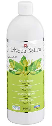 Helvetia Natura - Gel Douche Ylang Ylang 1L - Lot de 3