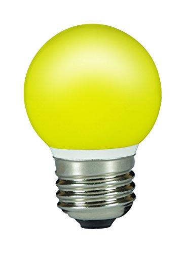Preisvergleich Produktbild Feilo Sylvania 0026889 LED Tropfen E27 0,5W gelb IP44 ToLEDo Outdoor,  Weiß