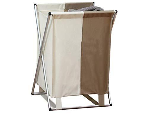 ZYL-YL Cesto Plegable de Doble Tela Oxford Ropa Sucia Cesta del almacenaje de la Cesta del almacenaje Clasificación Cesta de lavadero 35 * 55 * 40 * 8cm