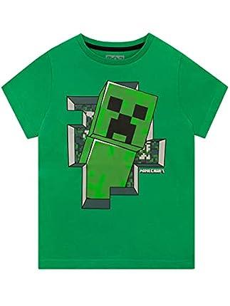 Minecraft Camiseta para niño 5 - 6 Años