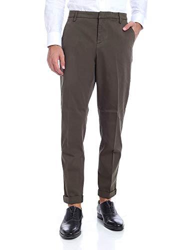DONDUP Pantalone Uomo cod.UP235GS0023U Verde Militare Size:33