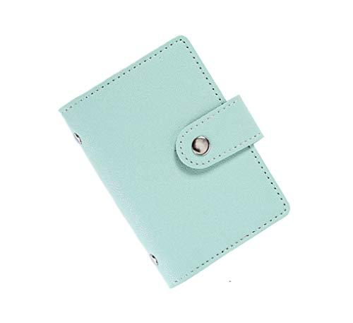 JERLA カードケース クレジットカードケース 薄型 磁気防止 スキミング防止【24枚収納】 (グリーン)