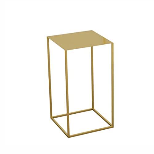 Yanyan Mesita de noche con marco cuboideo, mesita de noche cuadrada para sala de estar, sofá,...