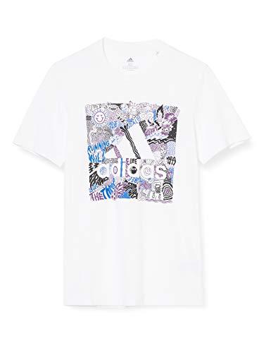 adidas Doodle Bos - Camiseta de Manga Corta Hombre