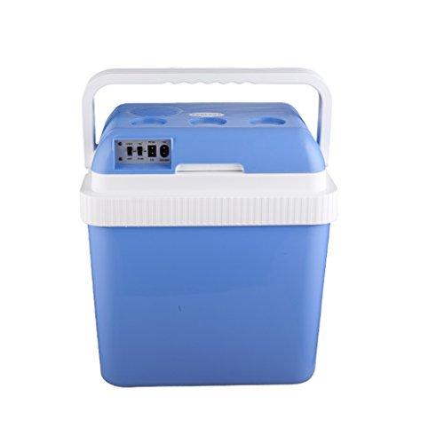 24L 12V DC 220V AC Kühlung Heizung Auto Mini-Kühlschrank Mikro Kühlschrank Auto nach Hause Kleine Abmessungen Dual-Use-Kühlschrank: 40.5 * 30 * 44cm