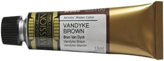 Mijello Mission Gold Water Color, 15ml, Vandyke Brown