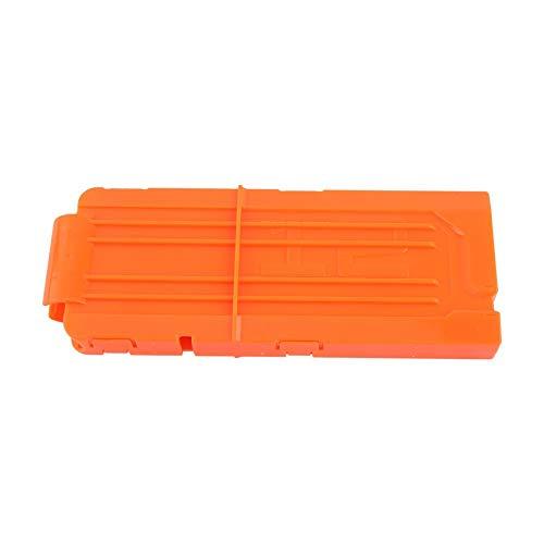 Yonhchop 1 stück Durable High Perforamce Orange 12 Runde Darts Ersatz Kunststoff Zeitschriften Clip Für Clips Spielzeugpistolen