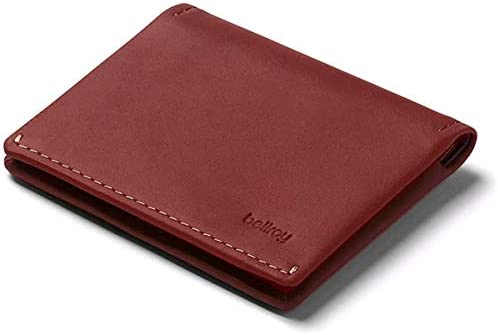 Bellroy Slim Sleeve Wallet Premium Leather Front Pocket Wallet Thin Bifold Design Holds 4 8 product image