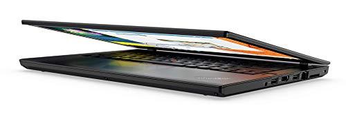 Lenovo ThinkPad T470 - Ordenador portátil de 14 pulgadas Full-HD, color negro (Intel Core i7-6600U / 2.60 GHz, 16 GB de RAM DDR4, disco de 500 GB SSD, Webcam, Windows 10 profesional)