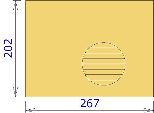 封筒用補強板1.5mm厚 B5ワイド 60枚セット