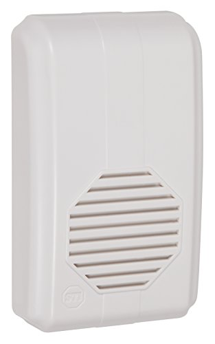 Safety Technology International, Inc. STI-3353 Wireless Chime Receiver, Transmitters Sold Separately, Part of Musical Wireless Chime Series