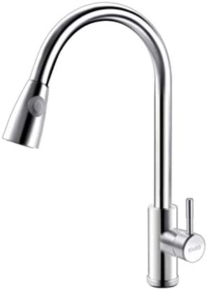 Klabb High Free shipping on posting reviews quality new S20 Single Handle Brushed Fau Pull Out Kitchen Nickel