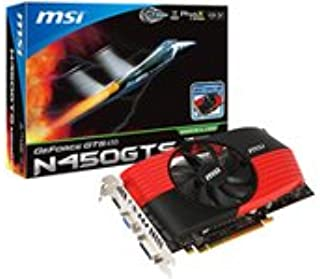 MSI nVIDIA GTS450 783MHz 3608MHz 128Bit DDR5 Fan Graphics Card (1024MB, PCI-E, DVI, HDMI)