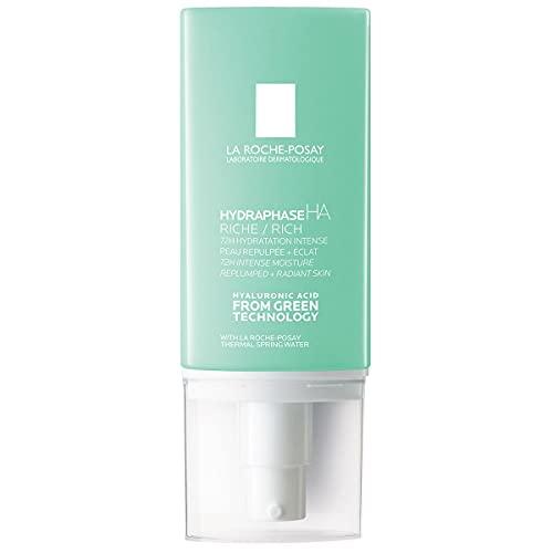 La Roche Posay Hydraphase Textura Rica   Crema hidratante para pieles muy secas   Hidratación intensa   ÁCIDO HIALURÓNICO PURO de origen natural   50 Ml