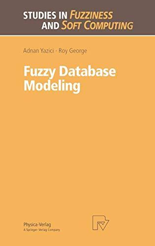 Fuzzy Database Modeling (Studies in Fuzziness and Soft Computing Vol. 26) (Studies in Fuzziness and Soft Computing (26), Band 26)