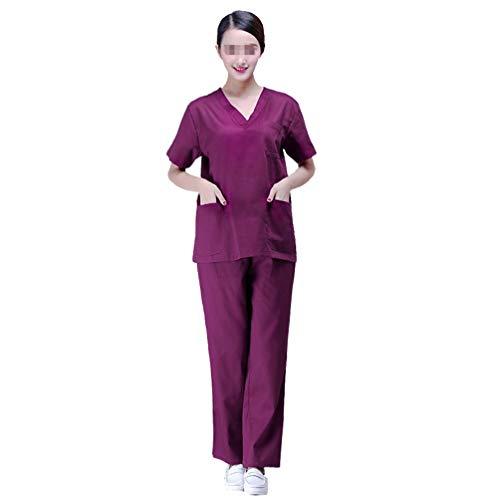 PRETYZOOM Bata de Aislamiento Batas de Médico Bata de Laboratorio Bata de Enfermera Bata de Bata Batas Médicas Batas de Examen a Prueba de Polvo para Doctores Enfermera