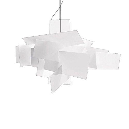 Kroonluchter postmodern creatieve persoonlijkheid kunst eenvoudige slaapkamer restaurant bar tafellampen wit acryl stapelen