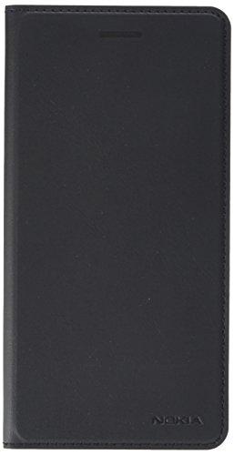 Nokia 1A21M9C00VA Slim Flip Hülle CP-301 für Nokia 6 schwarz