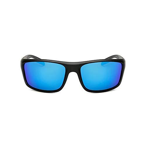 Sunglass Fashion Gafas de Montar para Hombre al Aire Libre Gafas de Sol Windshield Gafas de Sol Deportivas para Hombre polarizadas (Color : Brown, Size : Free)