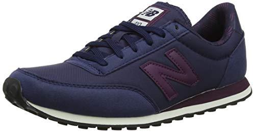 New Balance Damen 410 Sneaker, Blau (Pigment/Sea Salt Ppw), 39 EU