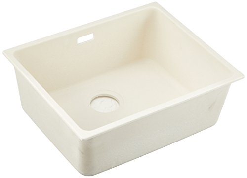 Franke 125.0283.923 Fragranite Granite Kitchen Sink with Single Bowl from Kubus Kbg 110-50, Cream