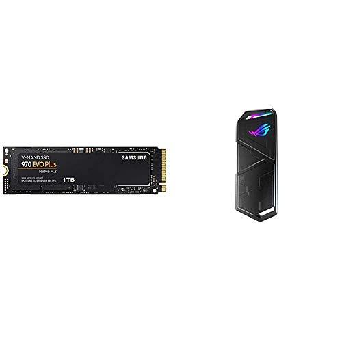 Samsung MZ-V7S1T0BW 970 EVO Plus 1 TB + ASUS ROG Strix Arion M.2 NVMe-SSD-Gehäuse
