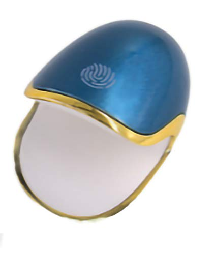 AIYIFU Máquina Secadora de Esmalte de Uñas Profesional, Mini Huevos de Dinosaurio Lámparas de Uñas UV LED para Esmalte de Uñas de Gel, Lámpara de Curado de Secador de Uñas Portátil de 6W,Blue