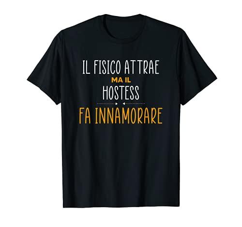 Regalo divertente por Azafata - Fa Innamorare Camiseta