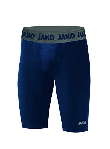 JAKO Pantalones Cortos Unisex de compresión 2.0, Unisex niños, Mallas Cortas, 8551, Azul...