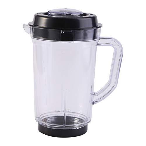 Derclive Juicer licuadora jarra de repuesto de plástico 1000 ml agua leche taza titular para bala mágica