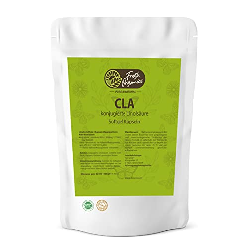 ACL (CLA) 250 gel capsules haute dose á 1000mg - acide linoléique conjugué - combustion naturelle des graisses + construction musculaire