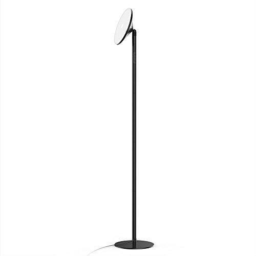 Lampadaire LED 30W Avantica Lampe sur Pied de Salon(71inch,0 Délai pour Le Commutateur Mural,Lumière blanche de 5500K,Minuterie de 30 Minutes,4200 Lumens) lumière du jour naturelle