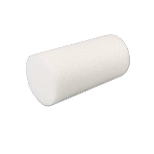 Cando - 30-2101 PE White Foam Roller, 6' X 12',...