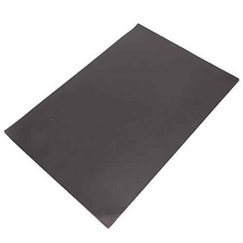 Constructiepapier, 20 vellen 8K knutselpapier Zwart Gemakkelijk vouwpapier voor beginners Dubbelzijdig doe-het-zelf Handgemaakt snijplank voor kunstnijverheid