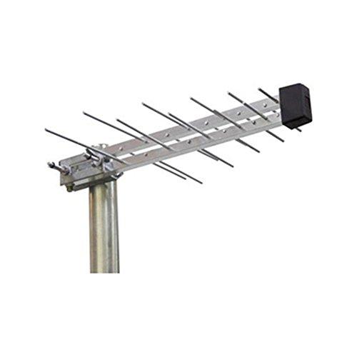 SAC Electronics – Mini Antena Digital compacta con Registro Freeview, LTE/4G protegida, Ideal para Todo Tipo de instalaciones aéreas para el hogar, Plano, Caravana, camión, Autocaravana, Barco, etc.