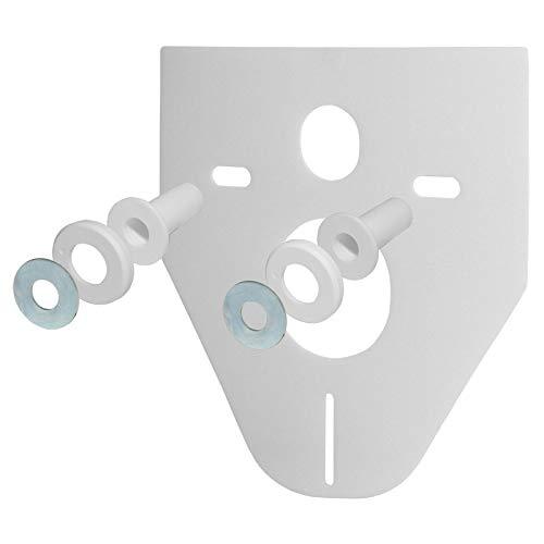 Perfektes Schallschutz-Set für Wand- WC und Wand- Bidet- inklusive Montagezubehör.