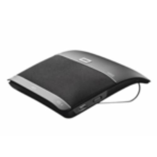 Jabra Freeway Handy Bluetooth Schwarz Freisprecheinrichtung - Freisprecheinrichtungen (Handy, Schwarz, 10 m, CE, FCC, IC, GOST, 300-18000 Hz, Kabellos)