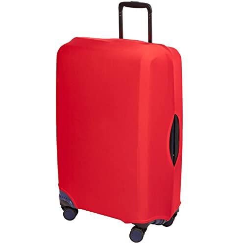 PrimeMatik - Funda elástica para Maleta 42x64x24cm Rojo