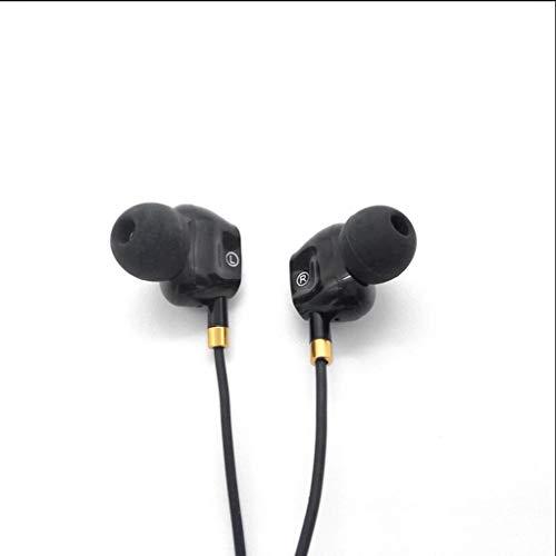 Business Wireless Bluetooth headset zware bass in-ear hoofdtelefoon, dubbele Moving Ring In-Ear kabel-Quad-Core met tarwe-oortelefoon, universele mobiele telefoon