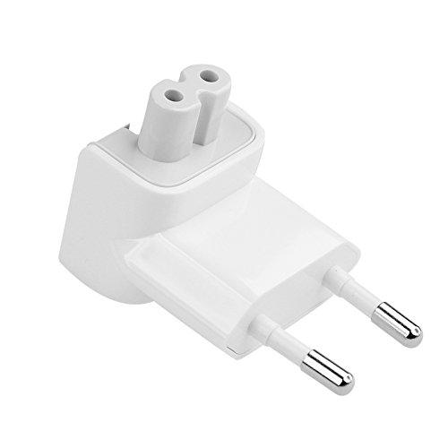 ElementDigital AC Wall Adapter Plug Duckhead EU Wall Charger AC Cord EU Standard Duck Head (White)