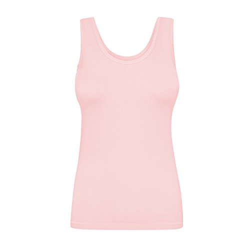 Assoluta Damen Tank Top, Größe L, rosa Quartz