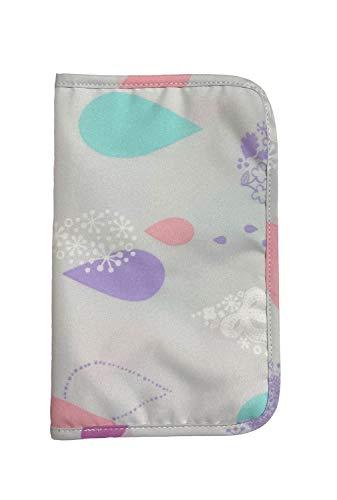 [ディアコロン] マルチケース 母子手帳 マスクケース パスポートケース 携帯用 おしゃれ かわいい キッズ 子供 収納 dz089 あめふり