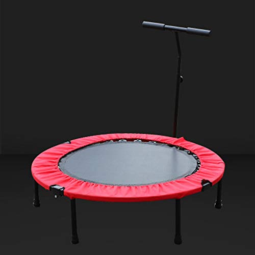 YY-JJ Home Trampoline Trampoline,indoor Home Trampoline For Children In The Gym,Weight Loss For Adults,for Indoor Garden Workout Cardio Exercise,fitness trampoline