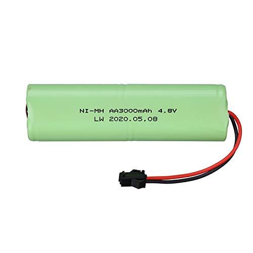 Batería de 4.8v 3000mah para la batería Recargable de los Barcos de los Robots de los Coches de los Juguetes de RC 4.8v